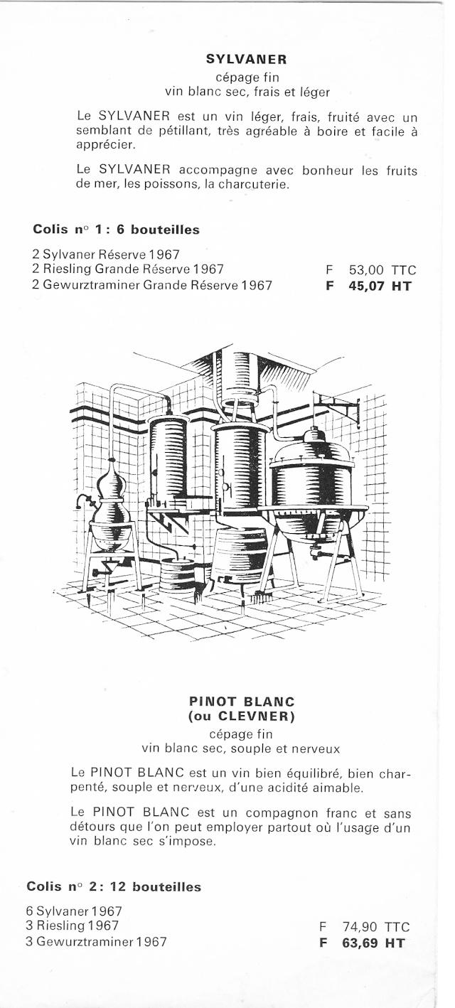 Distillerie et négoce en vins STROHL à Wangen Numar144