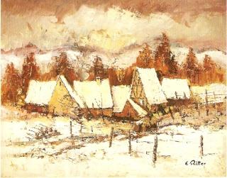 Etienne RITTER - Artiste peintre Numari25