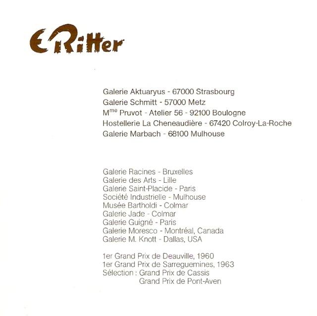 Etienne RITTER - Artiste peintre Numari31