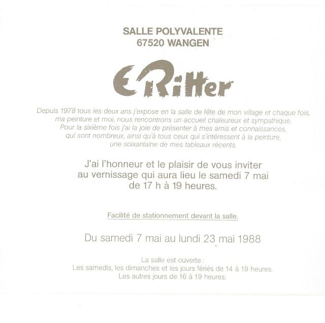 Etienne RITTER - Artiste peintre Numari32