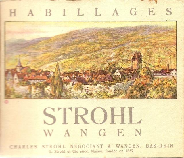 Distillerie et négoce en vins STROHL à Wangen Numari34