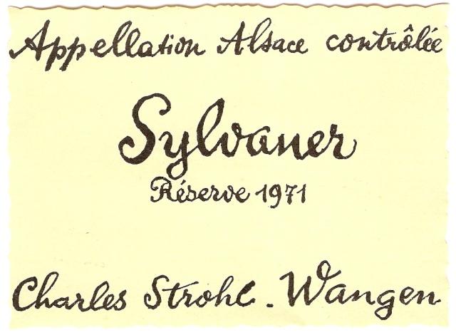 Distillerie et négoce en vins STROHL à Wangen Numari54