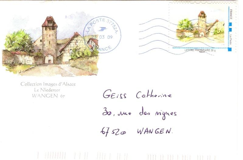 Les timbres postaux de Wangen Numari79