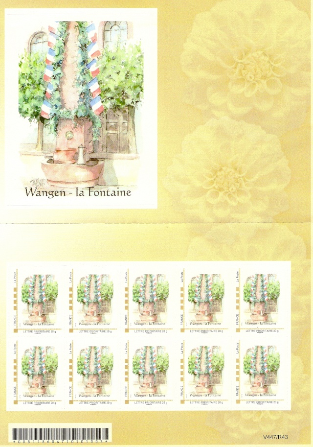 Les timbres postaux de Wangen Numari80