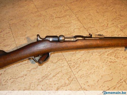 fusil 1866 transformé Gras 65793911