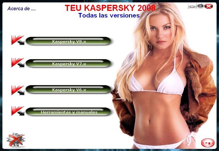Teu kaspersky 2008 full en español 9471a711