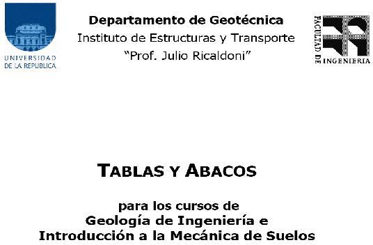 TABLAS Y ABACOS Suelos10