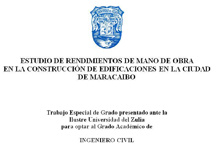 ESTUDIO DE RENDIMIENTOS DE MANO DE OBRA Tesis210