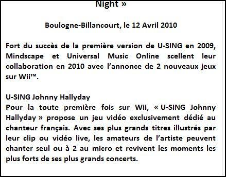 Johnny Hallyday sur console WII Captur76
