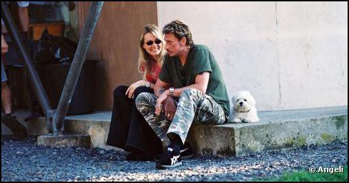 Johnny et Laeticia Hallyday dans le chagrin Captur80