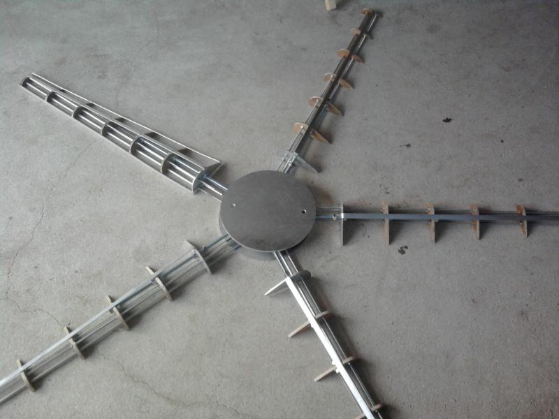 Générateur 12 Vlts de voiture et éolienne artisanale Photo049