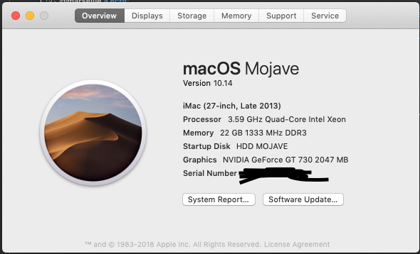 macOS Install Mojave Screen10