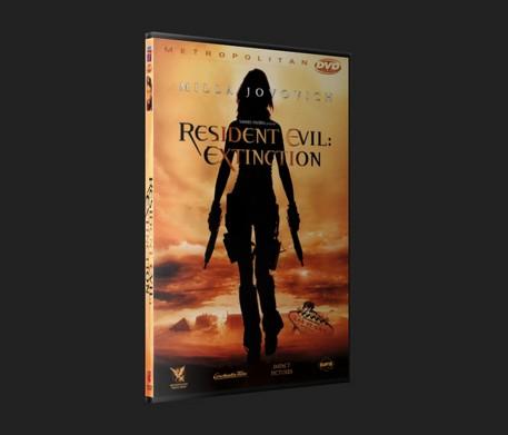 Resident Evil  Extinction Dvd Slim Resid10