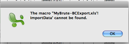 BC databases to Excel Pictur42