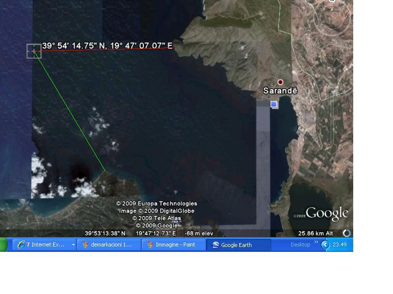 EKSKLUZIVE/ Harta sekrete, Greqisë i falim kufirin deri në Qeparo - Page 2 Demark10