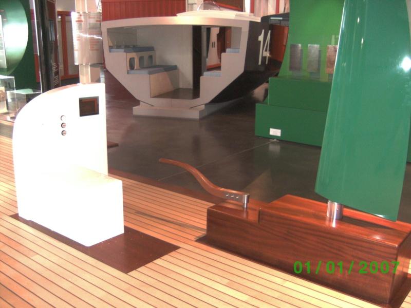 Visite de la Cité de la Voile Eric Tabarly à Lorient le 01/05/09 Bild0423