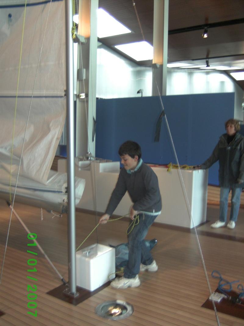 Visite de la Cité de la Voile Eric Tabarly à Lorient le 01/05/09 Bild0514