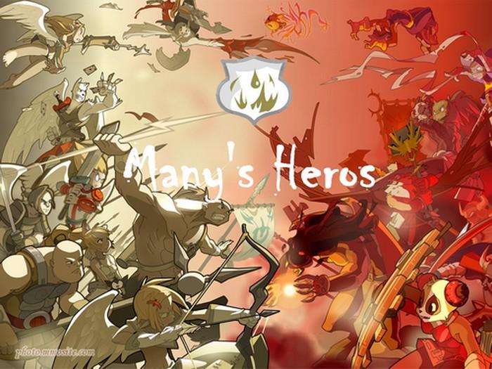 Many's Heros