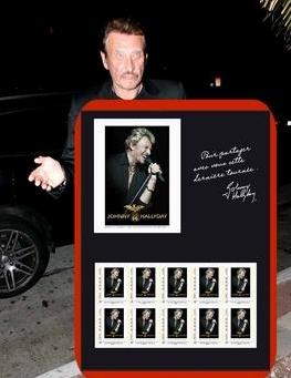 Johnny Hallyday vient d'avoir son propre timbre Captur13