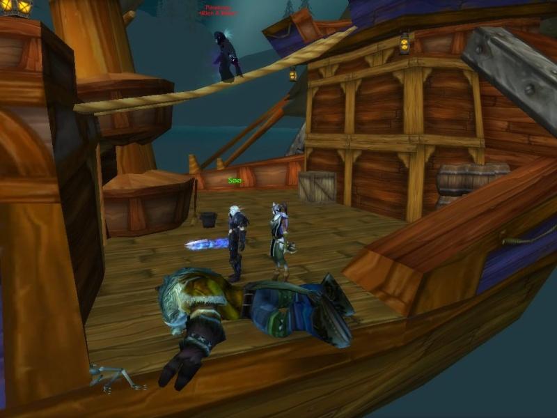 Bug [poigne de la mort] sur le bateau de Baie-du-Butin Lo10