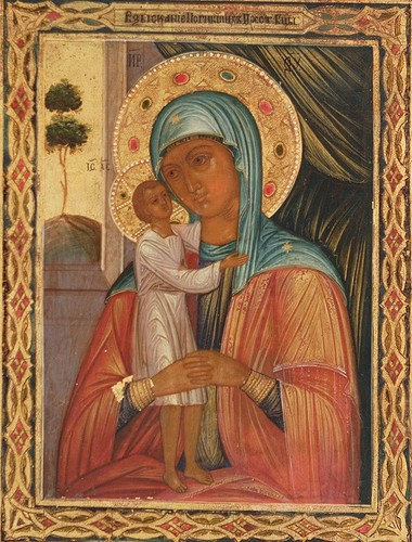 L'humilité de la Vierge (I) + (II) + (III) 1410