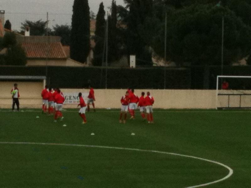 Castelnau - NO : 2-0 Un pénalty très discutable et une défaite injuste pour nos U15 Honneur 03_04_11