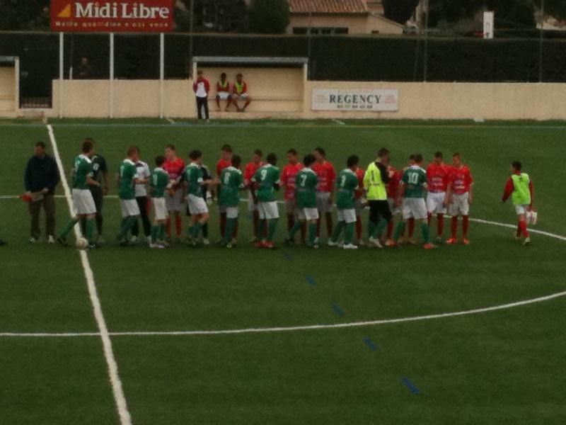 Castelnau - NO : 2-0 Un pénalty très discutable et une défaite injuste pour nos U15 Honneur 03_04_15