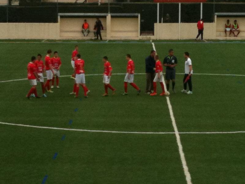 Castelnau - NO : 2-0 Un pénalty très discutable et une défaite injuste pour nos U15 Honneur 03_04_16