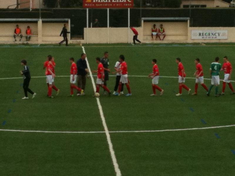 Castelnau - NO : 2-0 Un pénalty très discutable et une défaite injuste pour nos U15 Honneur 03_04_18