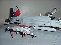 F-5 tiger III de la fach F_510