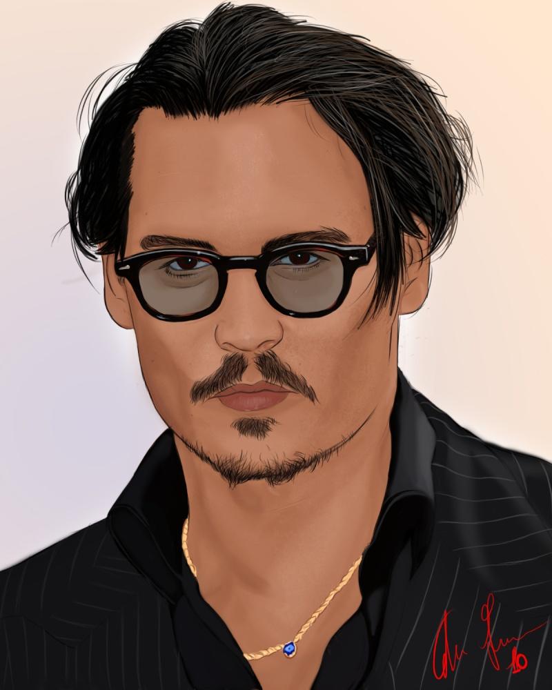 Fra's fan art Johnny10