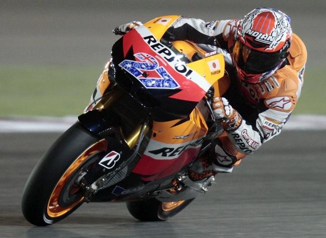 MotoGP  Espagne: Casey Stoner déjà devant On-pre13