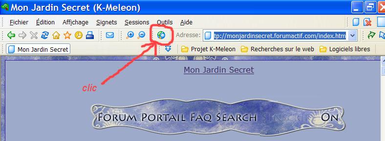 K-meleon : un navigateur simple et rapide K1310