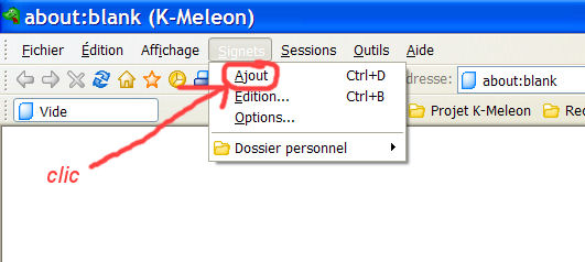 K-meleon : un navigateur simple et rapide K210
