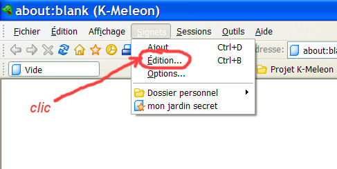 K-meleon : un navigateur simple et rapide K510
