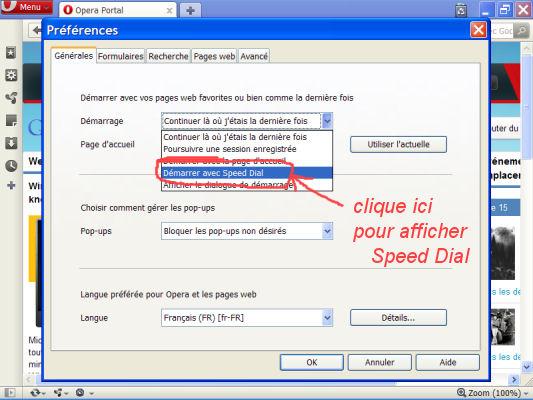 Opéra - navigateur pour débit lent et vieux PC O510