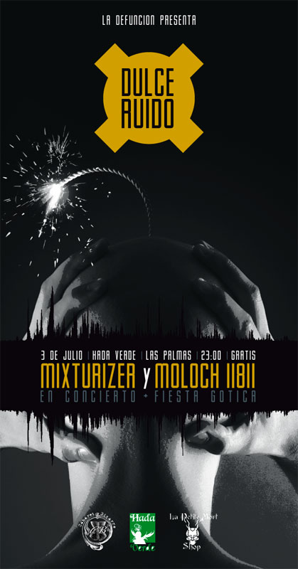 DULCE RUIDO concierto Mixturizer - Moloch 11811 + fiesta gótica Dulce_10