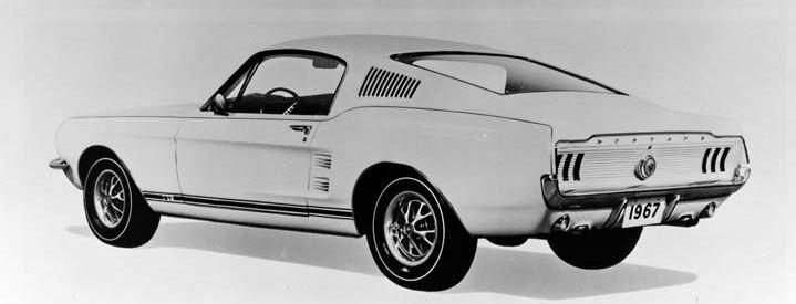 La Mustang 1967 modifié par Xavier Miron de Montréal 1967_o10