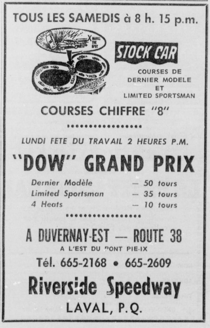 Vielles publicitées de course au Québec 1970_s10