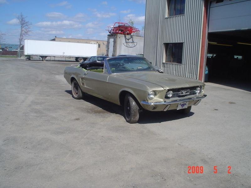 Ma Mustang 1967, 200ci Avant10