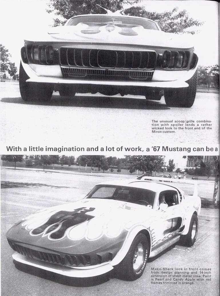 La Mustang 1967 modifié par Xavier Miron de Montréal Super_11