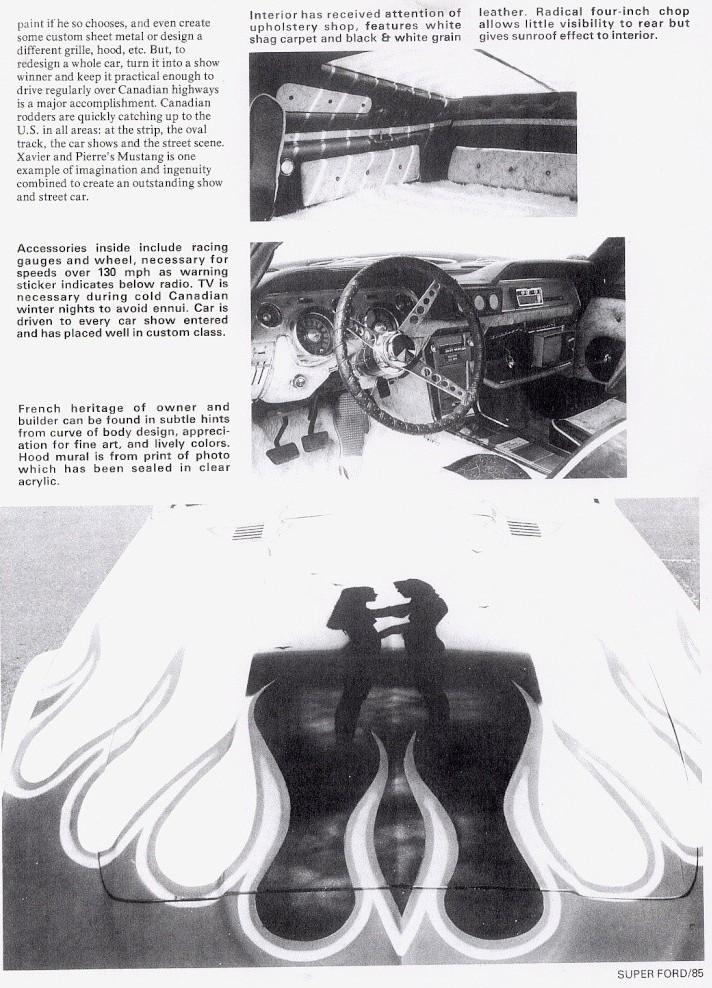 La Mustang 1967 modifié par Xavier Miron de Montréal Super_14