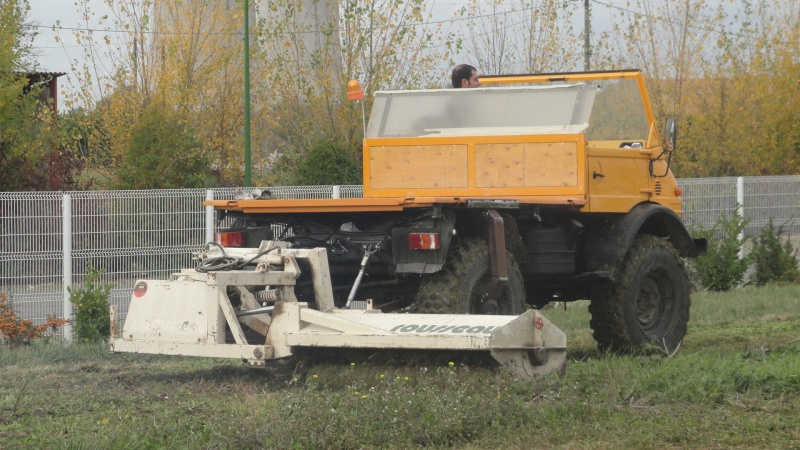essai stabilisateur et broyeur d'accotement Unimog11