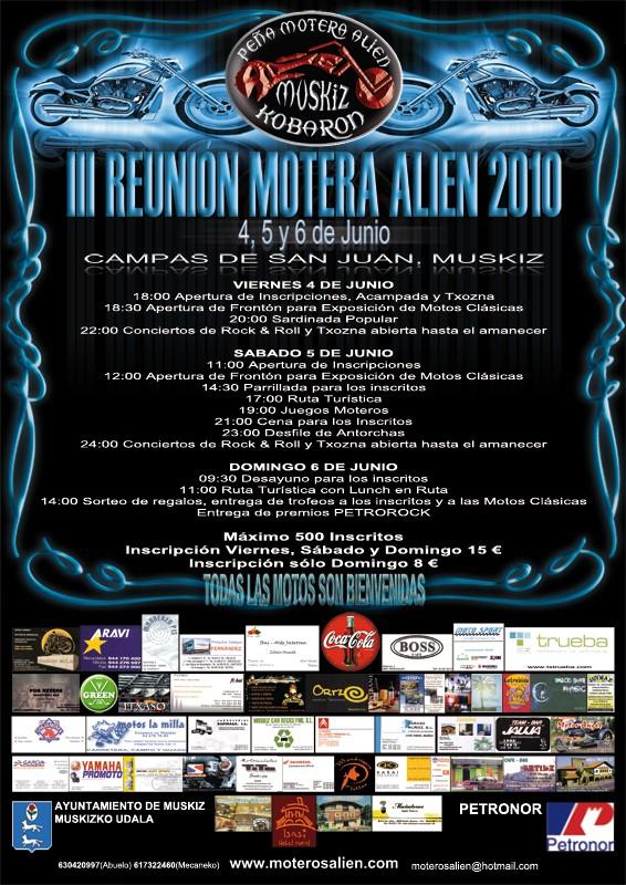 4,5 y 6 de Junio - III Reunión Motera Alien Cartel12