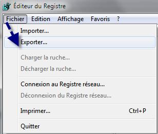 Comment sauvegarder son registre et le restaurer avec Windows 7 ? 01-03-12