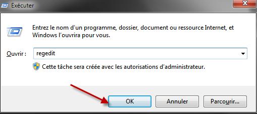 Comment sauvegarder son registre et le restaurer avec Windows 7 ? 01-03-14
