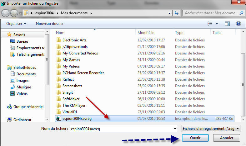 Comment sauvegarder son registre et le restaurer avec Windows 7 ? 01-03-16