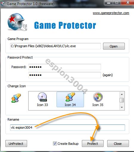 Game Protector : Protégez vos jeux et fichier .exe par un mot de passe ! 09-04-12
