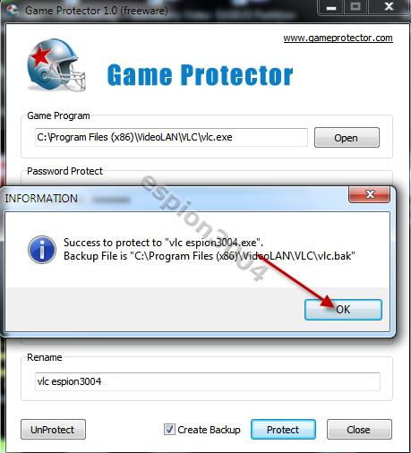 Game Protector : Protégez vos jeux et fichier .exe par un mot de passe ! 09-04-13