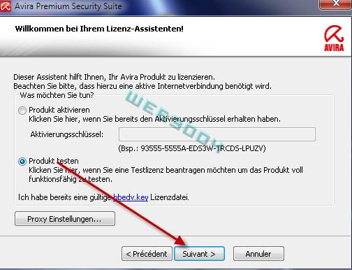 Avira Internet security  v10 gratuit 6 Mois sur le web3004 ! 10-03-11
